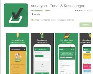 Review Aplikasi Survey Berbayar Penghasil Uang Surveyon