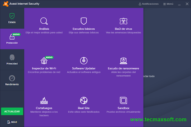 Avast Internet Security 2018 serial gratis captura 3