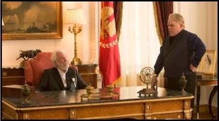Philip Seymour Hoffman en Los juegos del hambre: en llamas