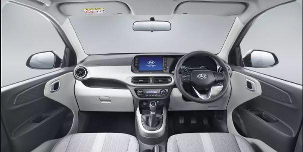 All new Hyundai Grand i10 Nios interior View