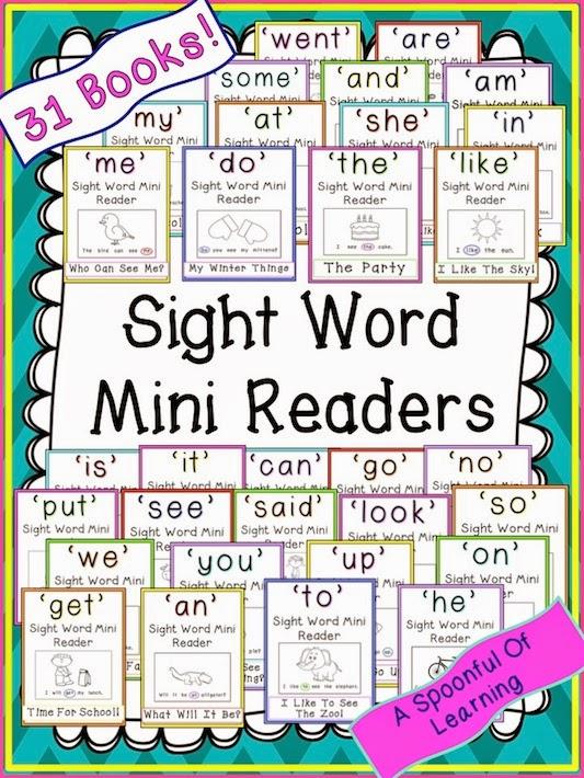 Sight Word Mini Readers!