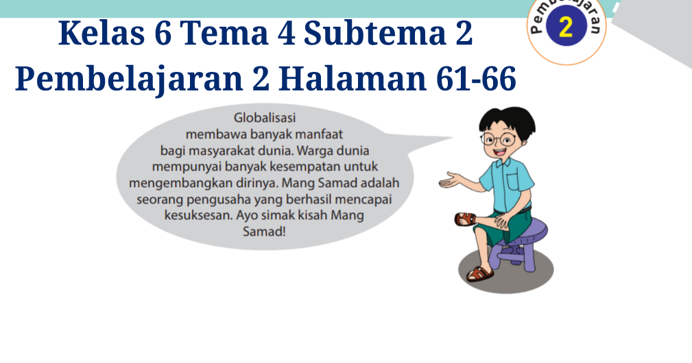 Kunci Jawaban Tema 3 Kelas 6 Halaman 61