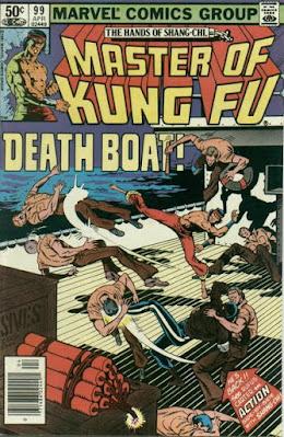 Shang-Chi Master of Kung Fu #99, Death Boat