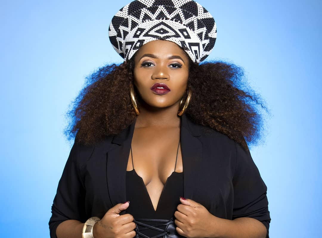 Gqom Singer Busiswa Gqulu Sets The Internet On Fire With Her Sizzling Hot Bikini Pics