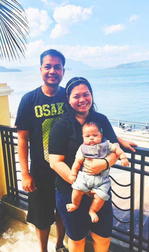 Family at Club Balai Isabel