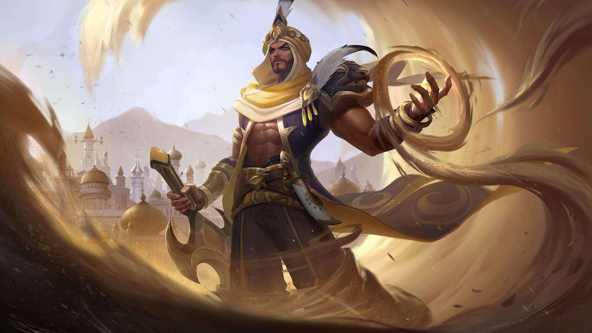 Khaleed prince of sand skin mobile legends hd for PC hobigame