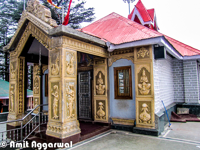 Jakhu Temple is very popular Temple in Shimla and know for various reasons. People who have never visited Shimla, know Jakhu for hundreds of monkeys around it. Different Monkey stories are popular and Jakhu is one of the important keyword in those stories. Let's check out this Photo Journey by Amit Aggarwal to know more about Jakhu Temple and other specialties of the place..In 2010, a huge statue of Hanuman is built near Jakhu Temple in Shimla. This is considered as world's tallest statue at 108 feet at the highest altitude of over 8100 feet and constructed at a cost of Rs 1.5 crores, which surpasses the current tallest statue of 'Christ the Redeemer', which measures at 98 feet and stands at an altitude of 2296 feet in Rio de Janeiro, Brazil.Over the years Jakhu has become one of the important part of Shimla town and authorities have improved the conditions in past few years. Now this campus has enough space for families to have fun around the Temple. There are some special arrangements for kids.Basically this temple is located on a hill called Jakhu and that's why the temple is also known as Jkhu Temple.It's hardly 2 kilometers from the Ridge and is an uphill climb through the beautiful deodar trees. It's  a trek of approximately 2 kilometers from Ridge ground near Mall Road. The Jakhu Temple of Simla is dedicated to the monkey God, Hanuman. The Jakhu temple is located at a height of 2455 meters and is situated on the highest peak in Shimla. The scenic view that surrounds this beautiful temple of India is absolutely breath taking and splendid.Here is a photograph of Jakhu Temple !Jakhu temple has an interesting legend behind it. It is said that a deadly arrow injured Lord Rama's brother Lakshmana when he was fighting the battle with the demon king Ravana. A priest diagnosed Lakshmana and said that he needed a particular Sanjeevani herb from the Himalayas to cure Lakshmana. Hanuman was sent to get that herb from he lofty mountains. Upon reaching the Himalayas, Hanuman couldn't make out as to which herb was the Sanjeevani. So he dug up the entire mountain and flew back to where Lakshmana was lying injured.After Lakshmana was cured, Hanuman went back to place the mountain in its original site. He rested on top of the Jakhu hill for sometime. It is said that the top of the hill got flattened due to Hanuman's weight! The temple has been built around the place that is supposed to have the footprints of Hanuman. It is a highly revered religious place of Shimla and devotees throng in huge numbers to prayJakhu is a hotspot for monkeys who flock here in great numbers and generously accept eatables that are given to them by devotees and touristsJakhu is derived from Hindi word Yakhsa. Yakshas are the mythological character in Hindu mythology, who are a link between human and gods. The original dates of temple is not known, but it is believed to be existing from the times of Ramayana, a pre-historic event as per ancient Hindu texts. The Jakhu hill is the highest peak around Shimla, and is famous for its trekking options. The Jakhu hill offers excellent views of sunrise, sunset, mountains and town. The hill is full of narrow paths and roads which are an enjoyable walks.There are lot of other stories associated with this temple, which can be seen at different web portals online.Overall it's a lovely hill around Shimla with some amazing views. Don't afraid of Monkeys and try to avoid the opportunities for them to follow you - Try  not to carry anything in your hands, just follow the path and don't pay attention to the etc.  Even someone comes to you and tries to check your pockets, let the things happen and you will be safe !