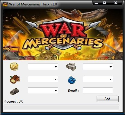 WAR OF MERCENARIES HACK CHEATS