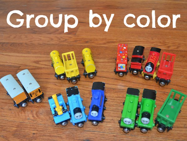 learning color activity