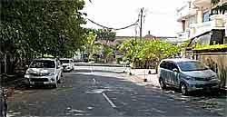 Akses jalan Rumah
