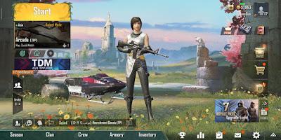Cara Mengatasi Layar Poni Di Game PUBG Mobile 0.13.0