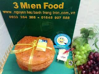 Bánh tráng Lắc Phô Mai (vàng tép,mỏng)