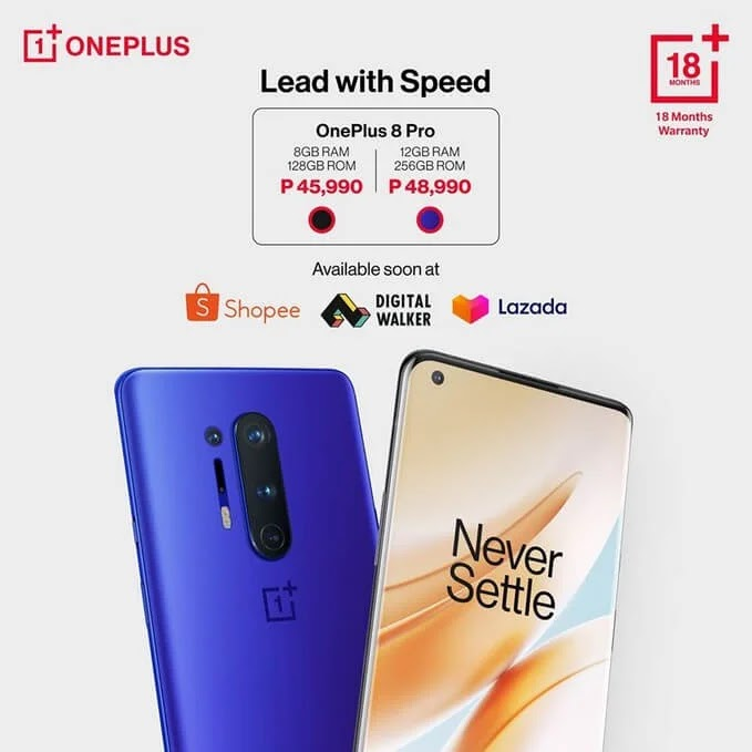 OnePlus 8 Pro Now Available in the Philippines; Price Starts at Php45,990