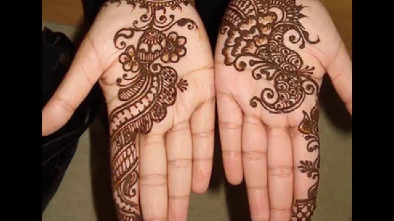 20 Beautful Henna Designs For Nikah: Top53 Beautiful Latest Easy Henna Mehndi Designs