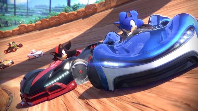 Imagem do Team Sonic Racing