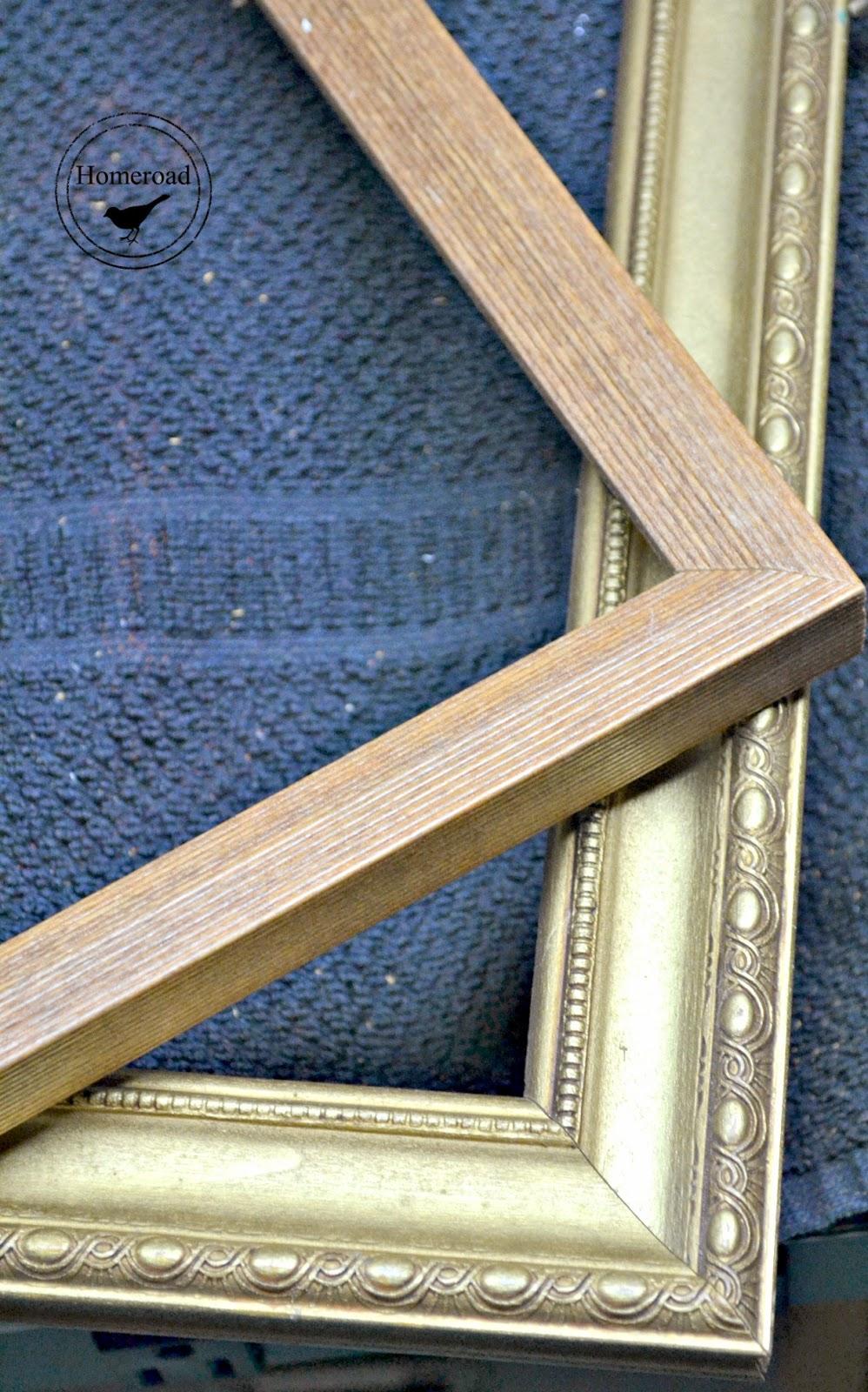 framed chalkboards with a TIP www.homeroad.net