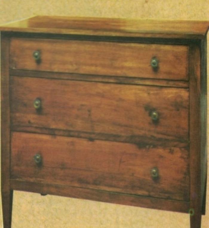 Professione donna come verniciare e decorare un vecchio - Restaurare un mobile in legno ...