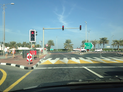 image about Things you should know about speed in Dubai driving test.