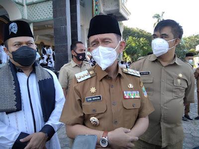 Dani Ramdan Tetapkan Herman Hanafi sebagai Pj Sekda Kabupaten Bekasi