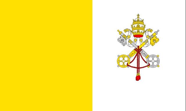 Drapeau de la Cité du Vatican: