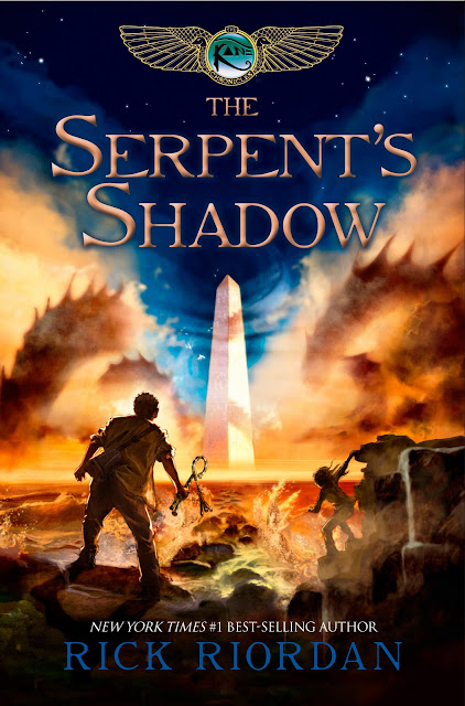 "News: Capa de ""The Serpent's Shadow"", de Rick Riordan. 17"