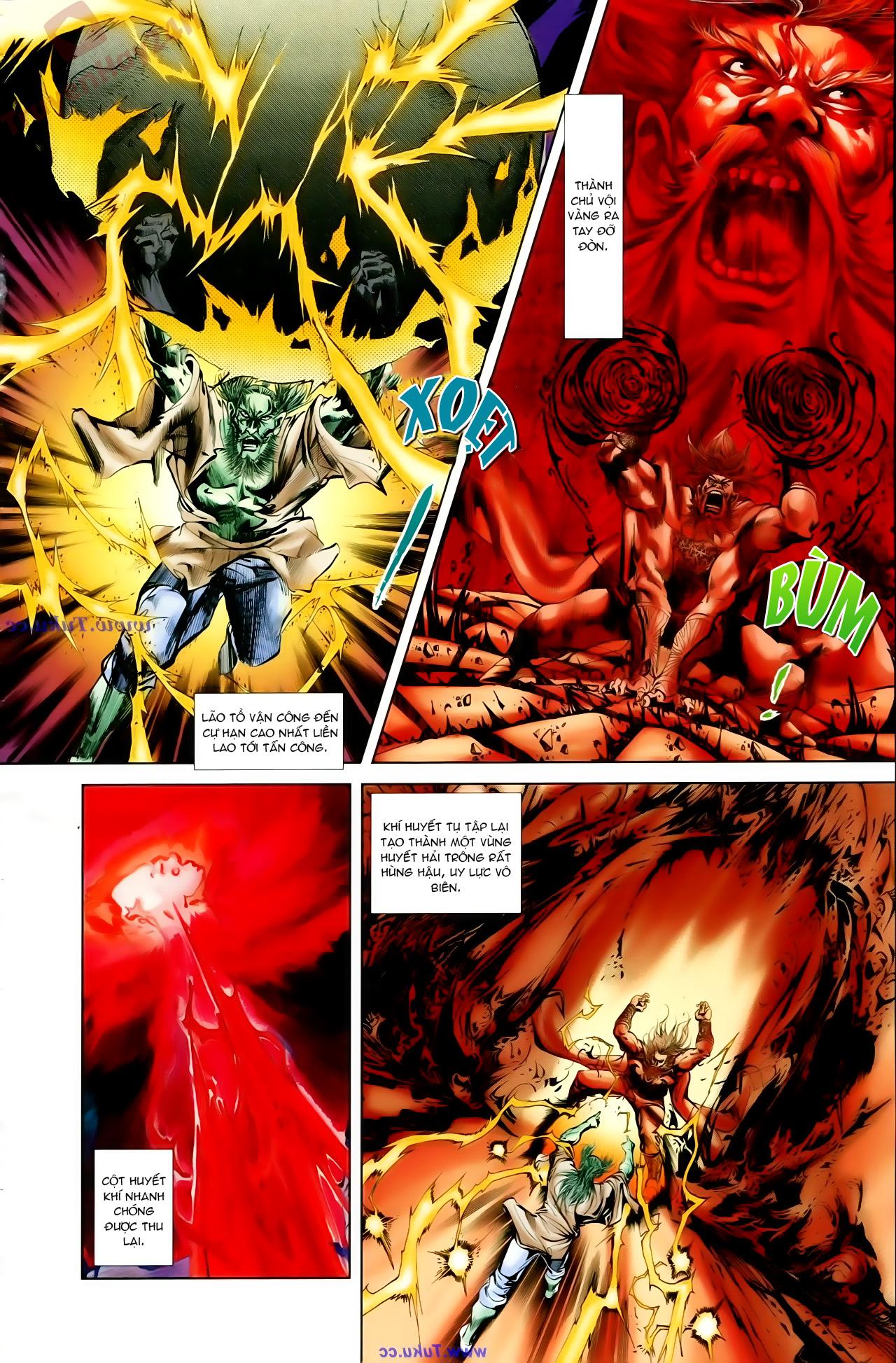 Cơ Phát Khai Chu Bản chapter 66 trang 17