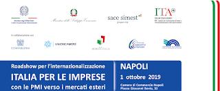 Roadshow per l'internazionalizzazione a Napoli