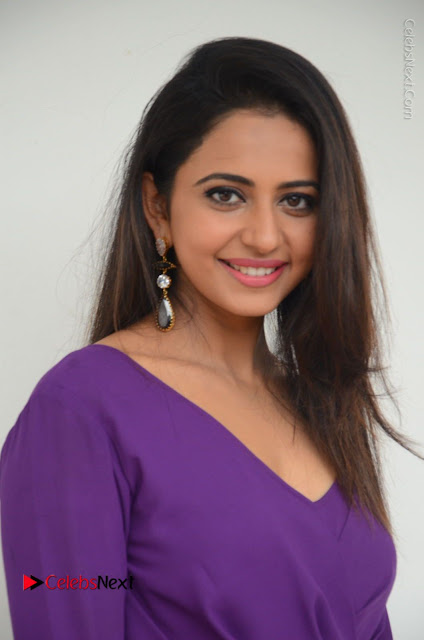 Actress Rakul Preet Singh Latest Stills in Beautiful Long Dress  0002.JPG