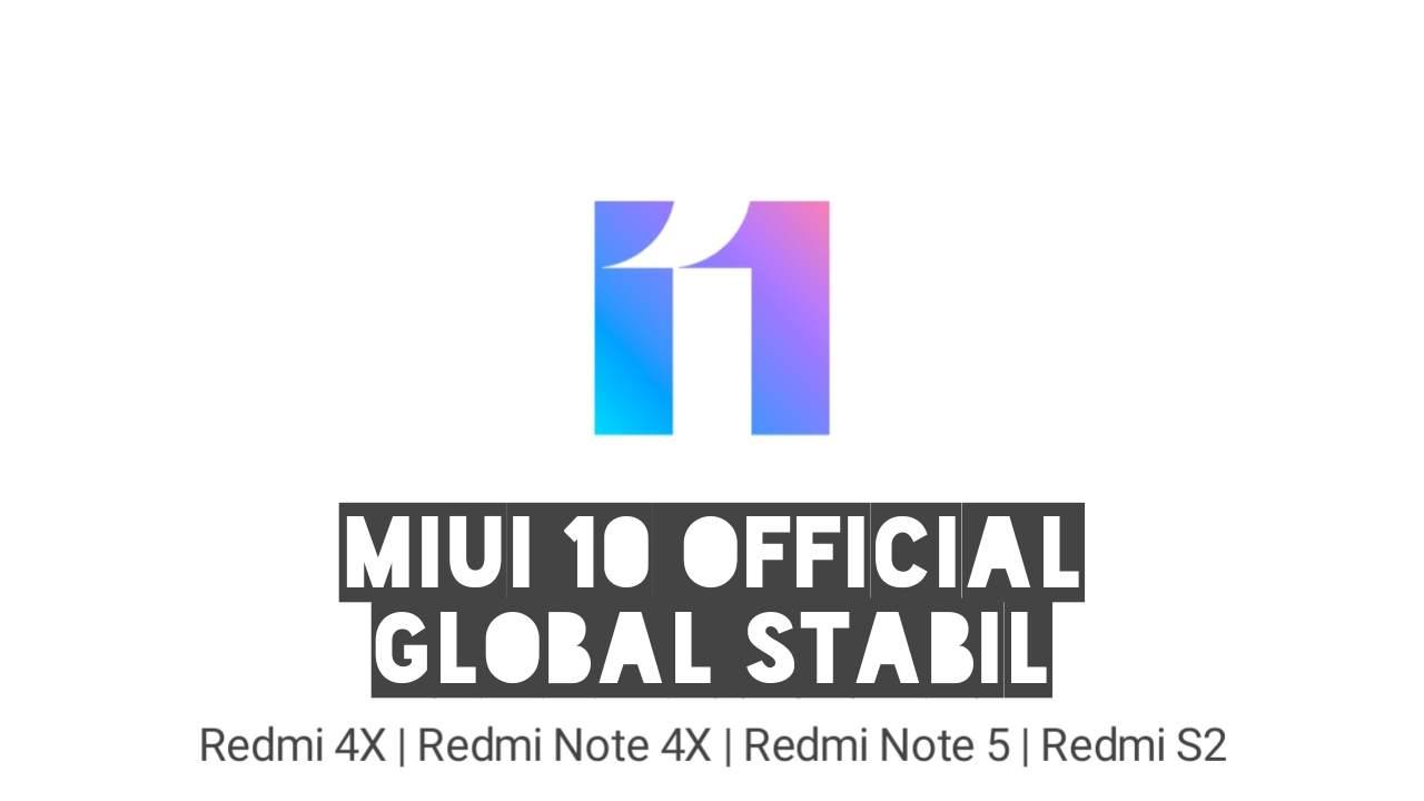 Rom MIUI 11 Global Stabil