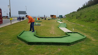 The North Bay Mini Golf course in Scarborough