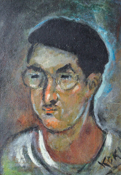 Autorretrato, 1928