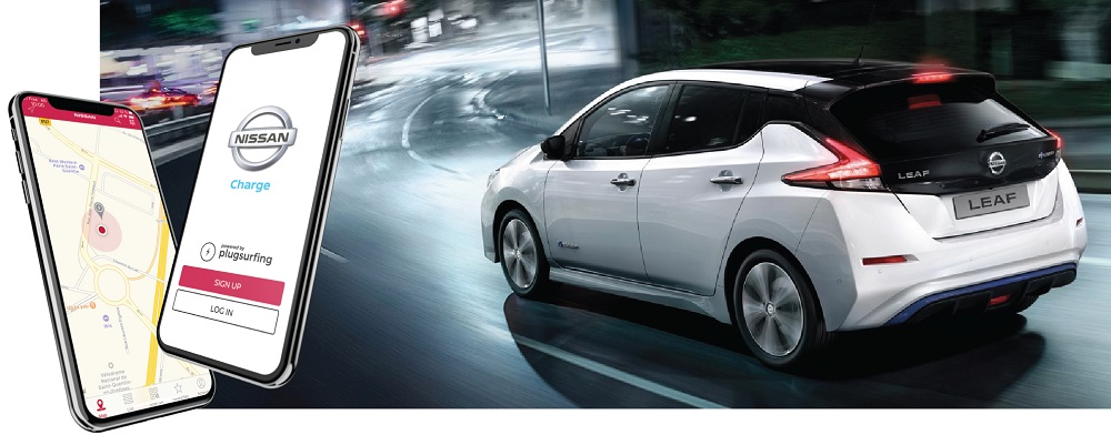 Nissan Charge app makes EV charging on the move easier than ever