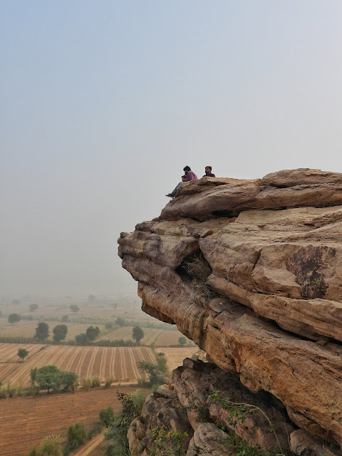 Rock paintings India