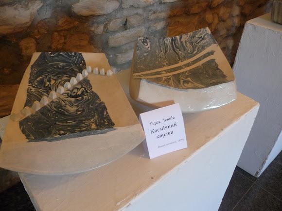 Збараж. Замок. Выставка керамики
