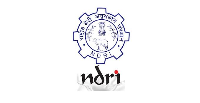NDRI Recruitment 2020 Young Professional-II, Research Associate, JRF, SRF, Field Investigator – 9 Posts www.ndri.res.in Last Date 07 to 23-12-2020 – Walk in