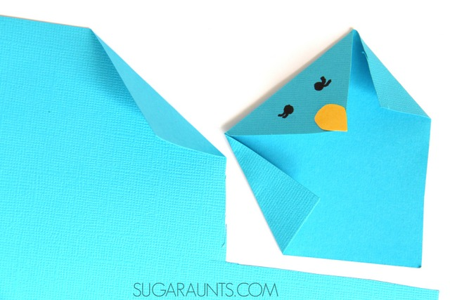 Beautiful Oops Folded Paper Animals Crafts The Ot Toolbox
