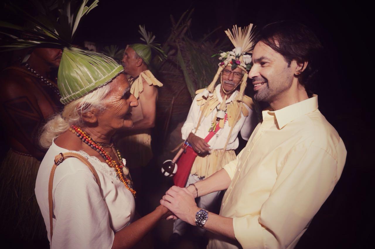 No dia do Índio, Diogo Moraes prestigia celebração da tribo Xukuru de  Cimbres, em Pesqueira b3372a5217