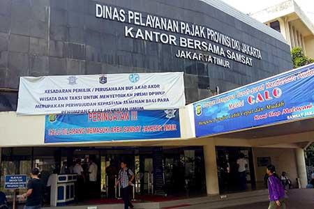 Alamat & Nomor Telepon Call Center Kantor Pajak Jakarta Timur