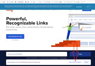cara mengubah link phising
