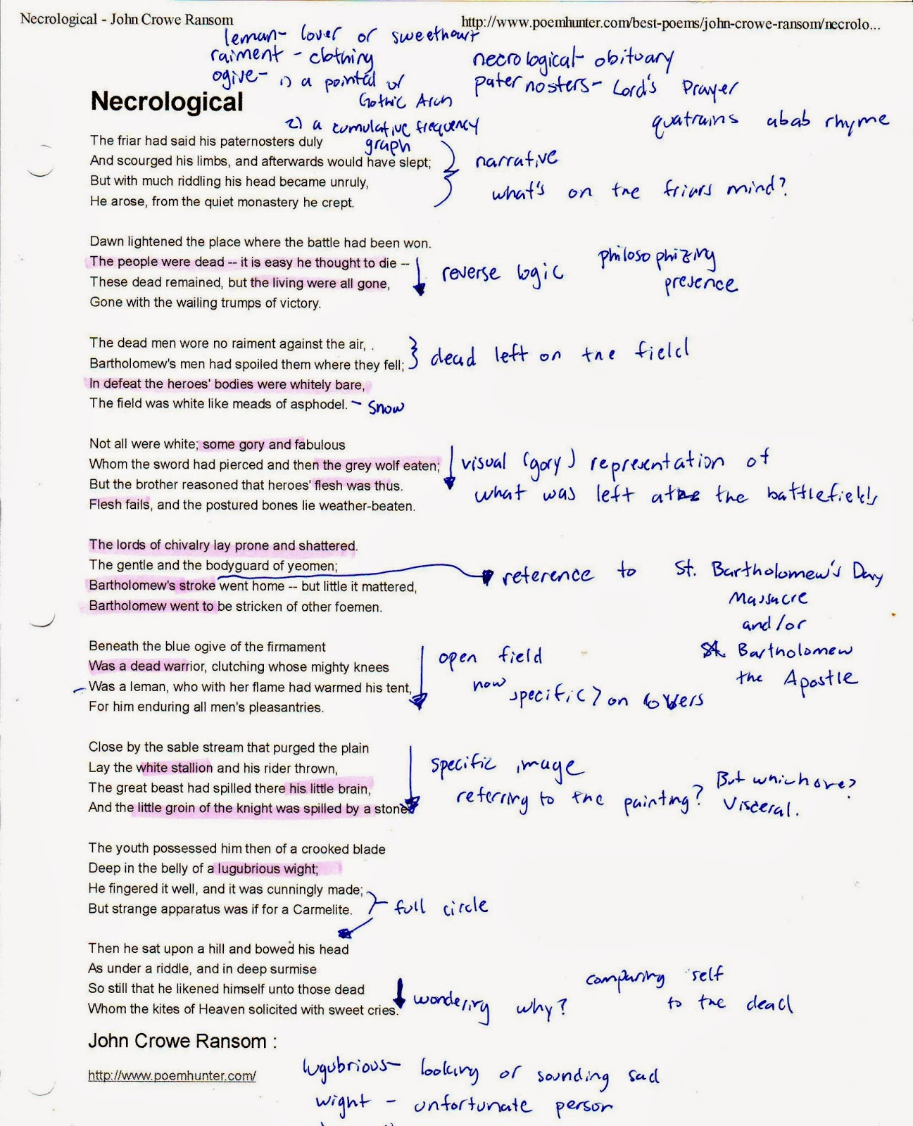 Annabel Lee Rhyme Scheme English 9 Poetry Annabel Lee