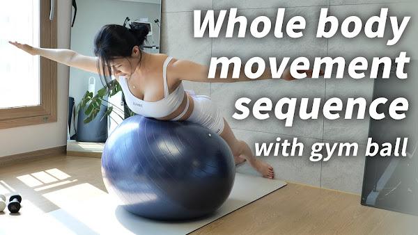 Urutan Gerakan Seluruh Tubuh Dengan Bola GYM