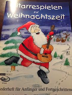 Gitarrespeilen zur Weihnachtszeit