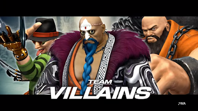 The King Of Fighters XIV presentato il team Villains