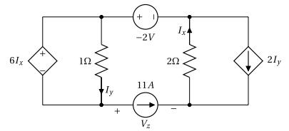 Superposition - Circuit avec sources dépendantes