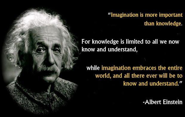 Albert Einstein Imagination Knowledge Quote