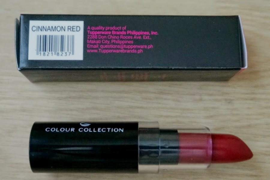 Colour Collection HD Lipstick in Cinnamon Red