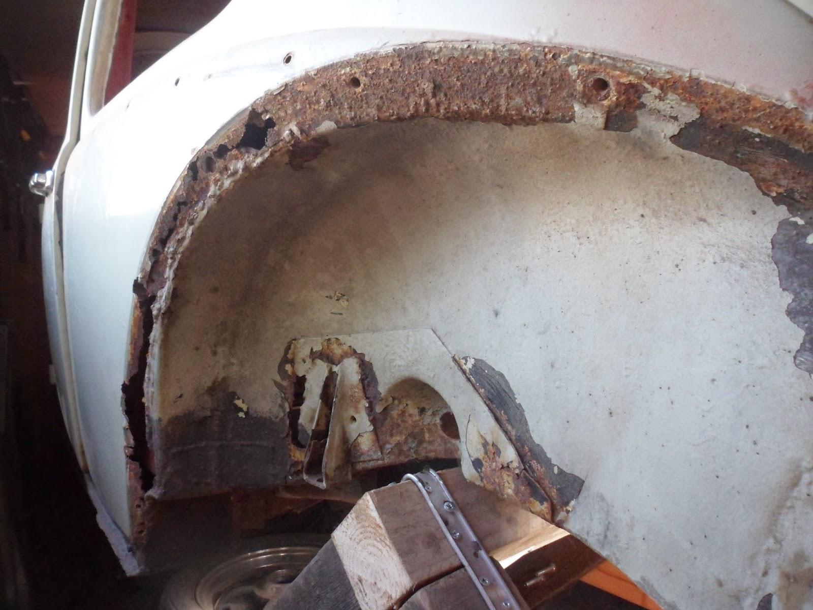 1965 Vw Beetle Restoration