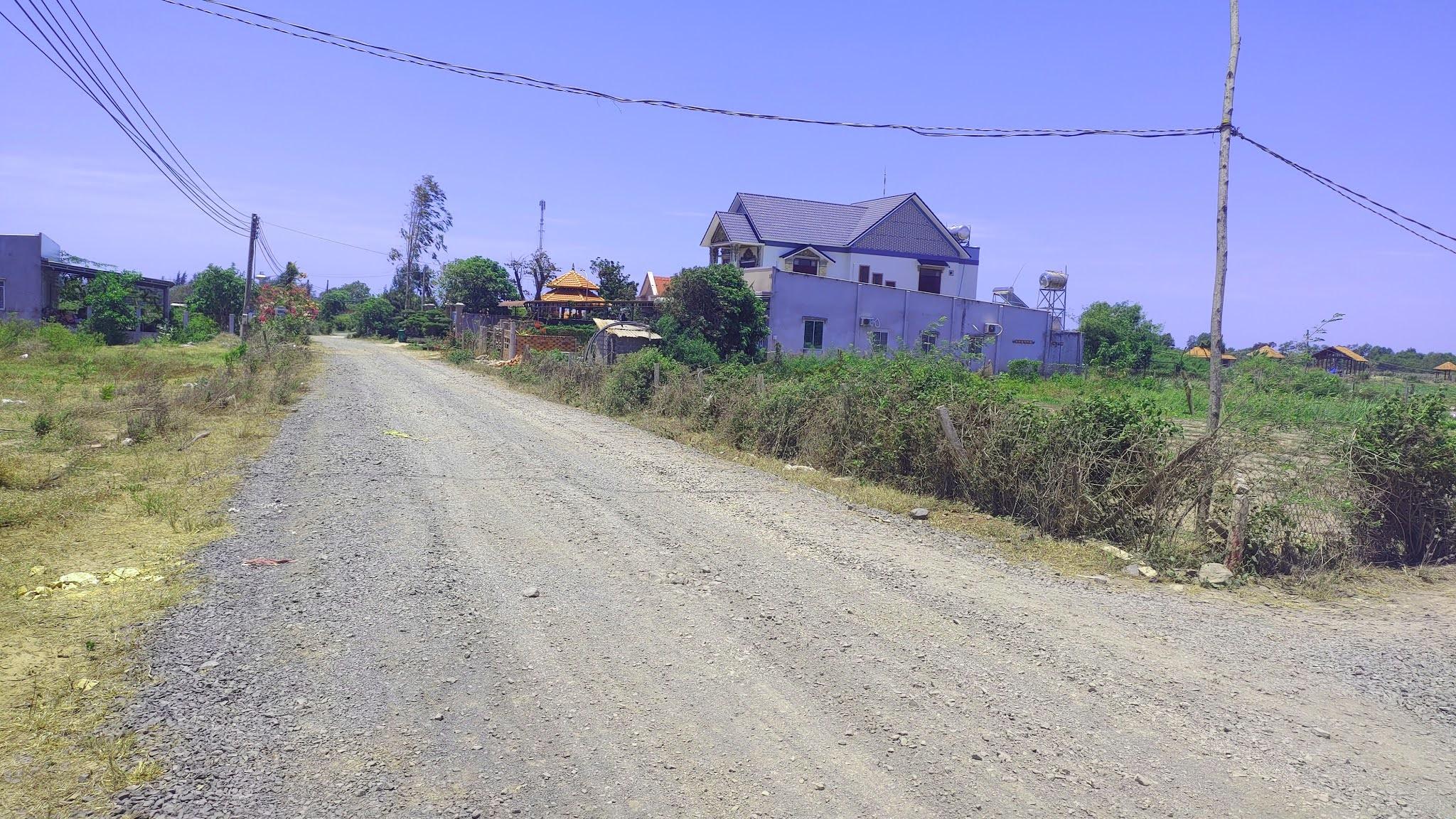 câng bán lô đất 2 mặt tiền đường tại hồ tràm, mặt tiền đường ODA Hồ Tràm