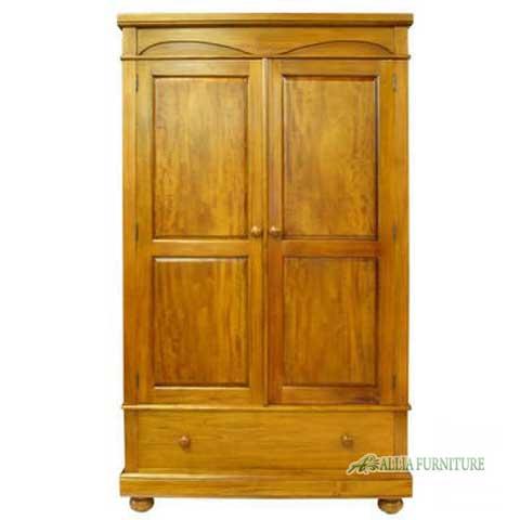 lemari pakaian klasik 2 pintu odessa