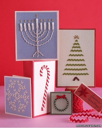 CIMDHOG: Do It Yourself Christmas cards